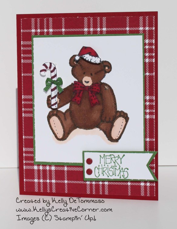 Button Bear Card