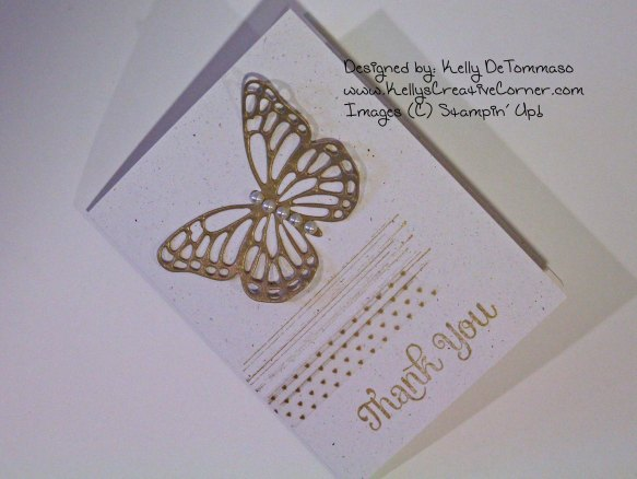 Butterfly Card Finished