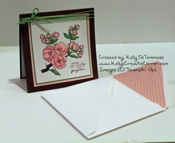 Sympathy Card and Envelope